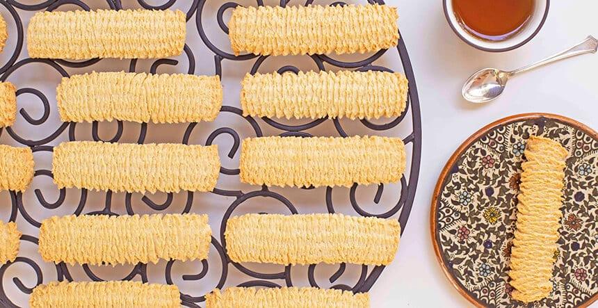 עוגיות מכונה מרוקאיות פריכות