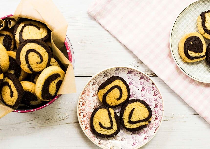 עוגיות שבלול ספירלה