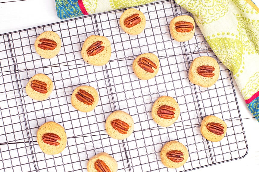 עוגיות פקאן-קינמון