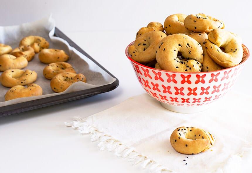 עוגיות מלוחות עם שמן זית