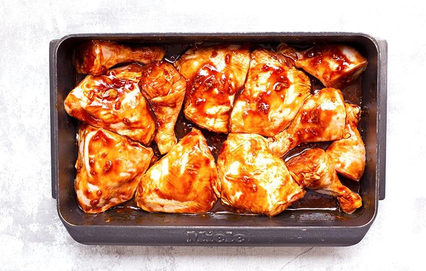 עוף בתנור עם סילאן