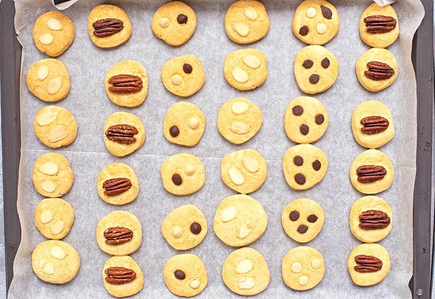 מגוון עוגיות-בצק אחד - מטבח לייט