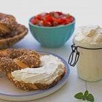גבינת שמנת ביתית 6% שומן - מטבח לייט