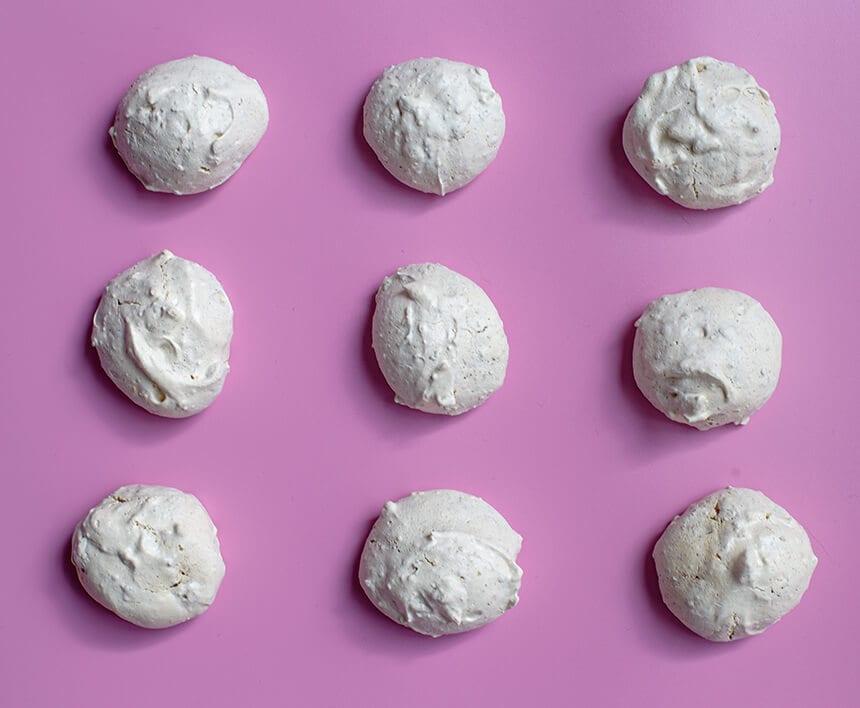 עוגיות מרנג שקדים-מטבח לייט