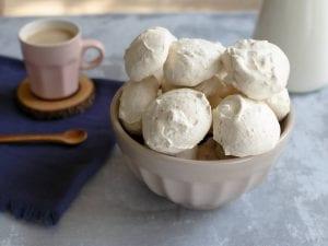 עוגיות מרנג שקדים מהירות-מטבח לייט