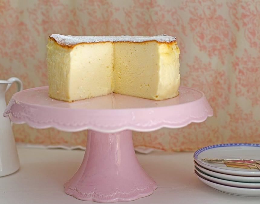 עוגת גבינה אפויה - מטבח לייט