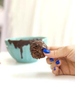כדורי שוקולד מפצפוצי אורז - מטבח לייט