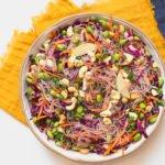 סלט אסיאתי עם אטריות -מטבח לייט