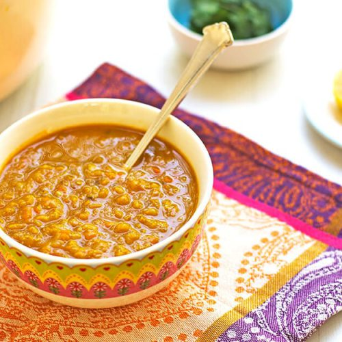 מרק עדשים כתומות עם גזר - מטבח לייט