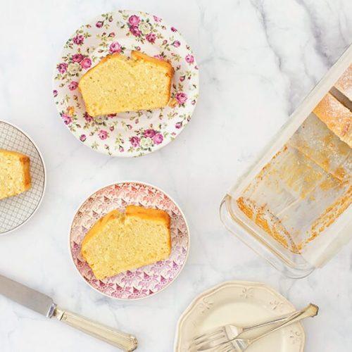 עוגה בחושה יוגורט-וניל
